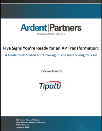 Five Signs You're Ready for an AP Transformation 2