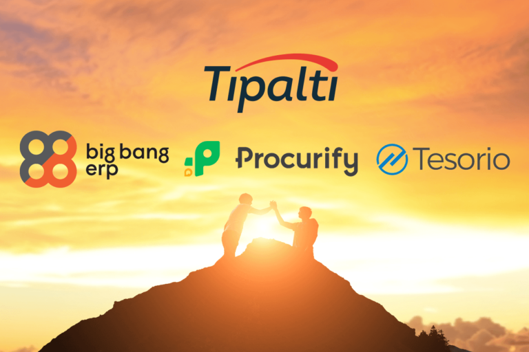 Tipalti Expands Financial Management Partnerships with Big Bang ERP, Procurify, and Tesorio 1